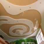 Фото 26: Красивый потолок из гипсокартона