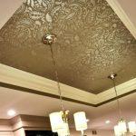 Фото 77: Прекрасный натяжной потолок из ткани