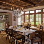 Фото 34: Кухня в стиле кантри