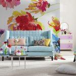 Фото 58: Красочный постер для комнаты девочки
