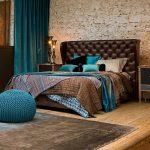 Фото 21: Бирюзовые оттенки в интерьере спальни