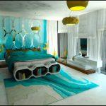 Фото 40: Спальня бирюза