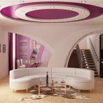 Фото 74: дизайн потока в гостиной
