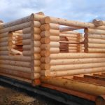 Фото 36: Строим дом из бревна