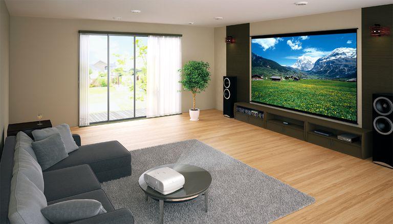 Современный проектор для квартиры