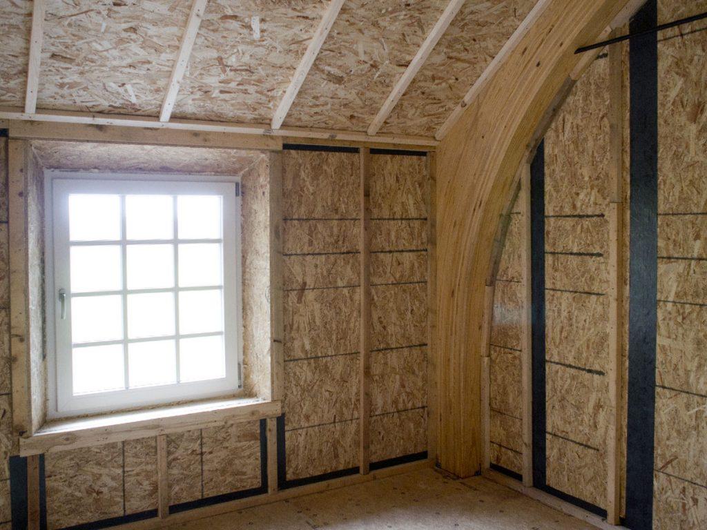 Внутренняя отделка дома построенного из СИП-панелей