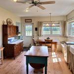 Фото 26: Уютная просторная кухня