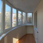 Фото 34: Остекление балкона и покраска стен в белый цвет