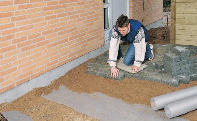 Применение геотекстиля в жилищном строительстве