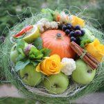 Фото 45: Праздничный букет из фруктов