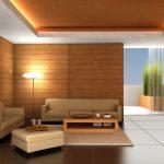 Фото 82: Потолок в гостиной
