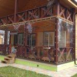 Фото 10: шторы ПВХ для веранды