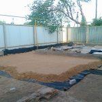 Фото 41: Геотекстиль для заливки двора бетоном