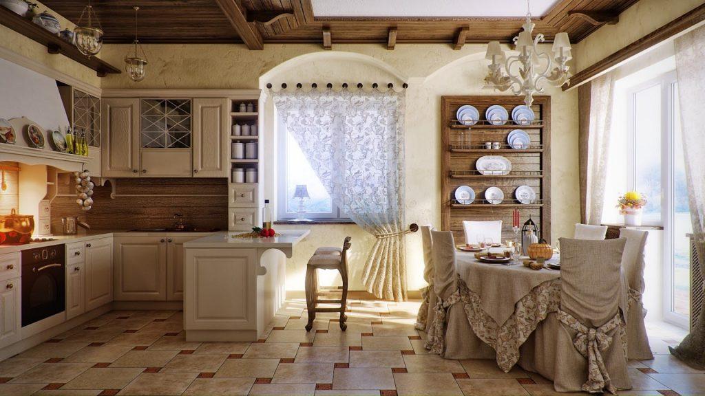 Превосходная кухня в стиле прованс