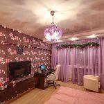 Фото 81: Дизайн нятяжного потолка