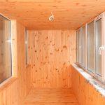 Фото 42: Обшивка балкона