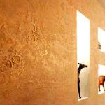Фото 43: Отделкам стен декоративной штукатуркой