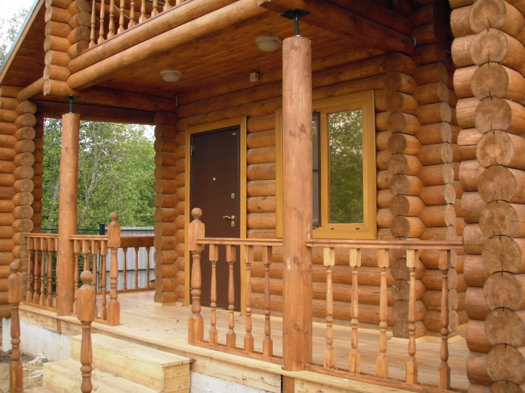 Натуральная древесина для строительства дома