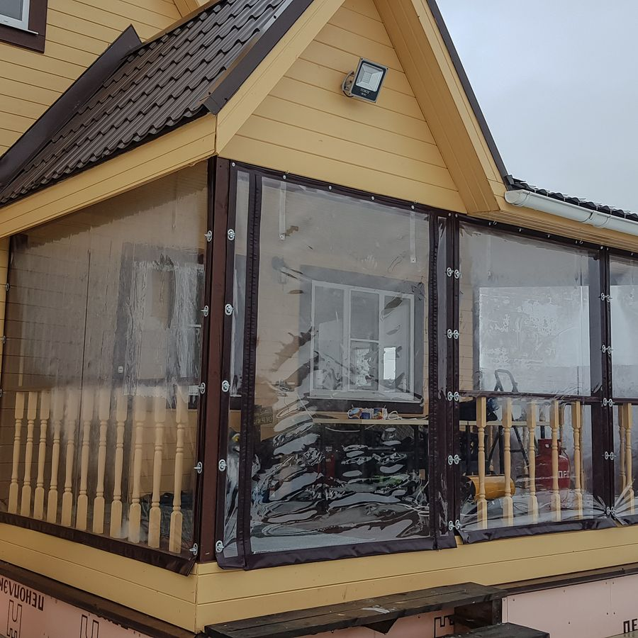 Как выглядят шторы ПВХ для дома снаружи