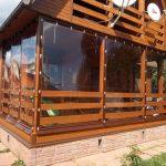 Фото 29: прочные шторы ПВХ для оформления дома