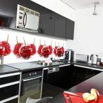 Фото 44: Стеклянный фартук для кухни