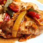 Фото 64: курица с овощами