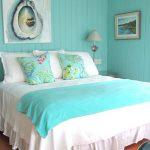 Фото 73: Спальня бирюза