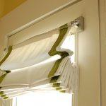 Фото 21: Бескаркасные римские шторы