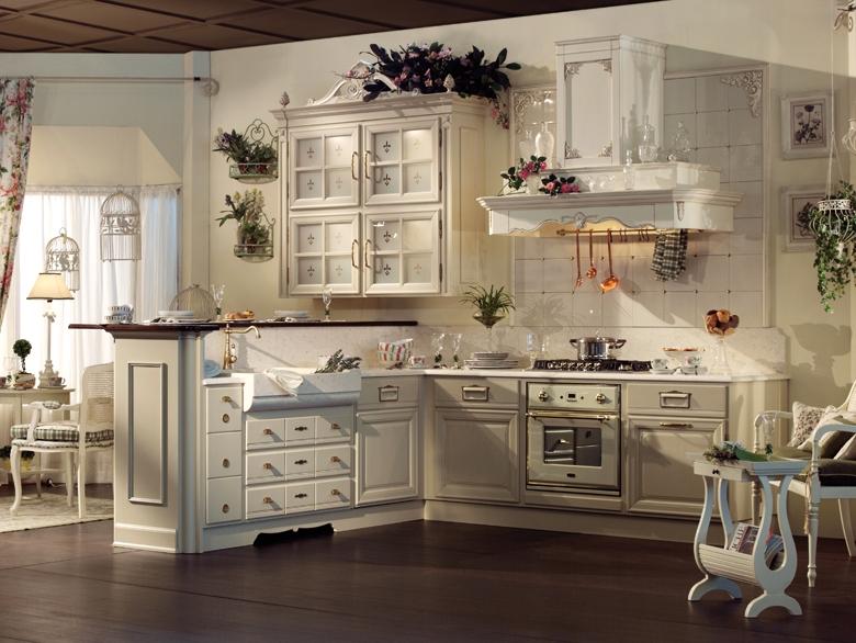 Дизайн кухни прованс