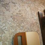 Фото 53: Красивая стена оформленная декоративной шттукатуркой
