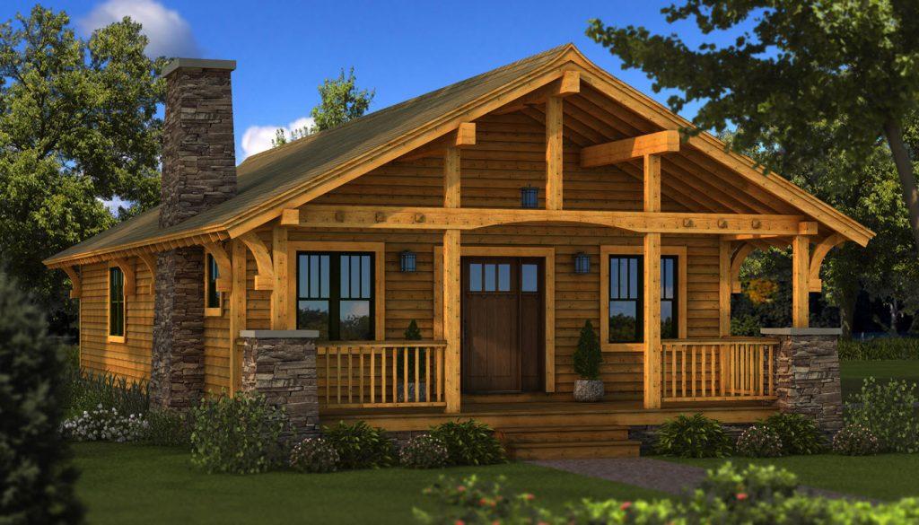 Экологически чистые деревянные дома