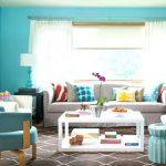 Фото 51: Стены бирюзового цвета