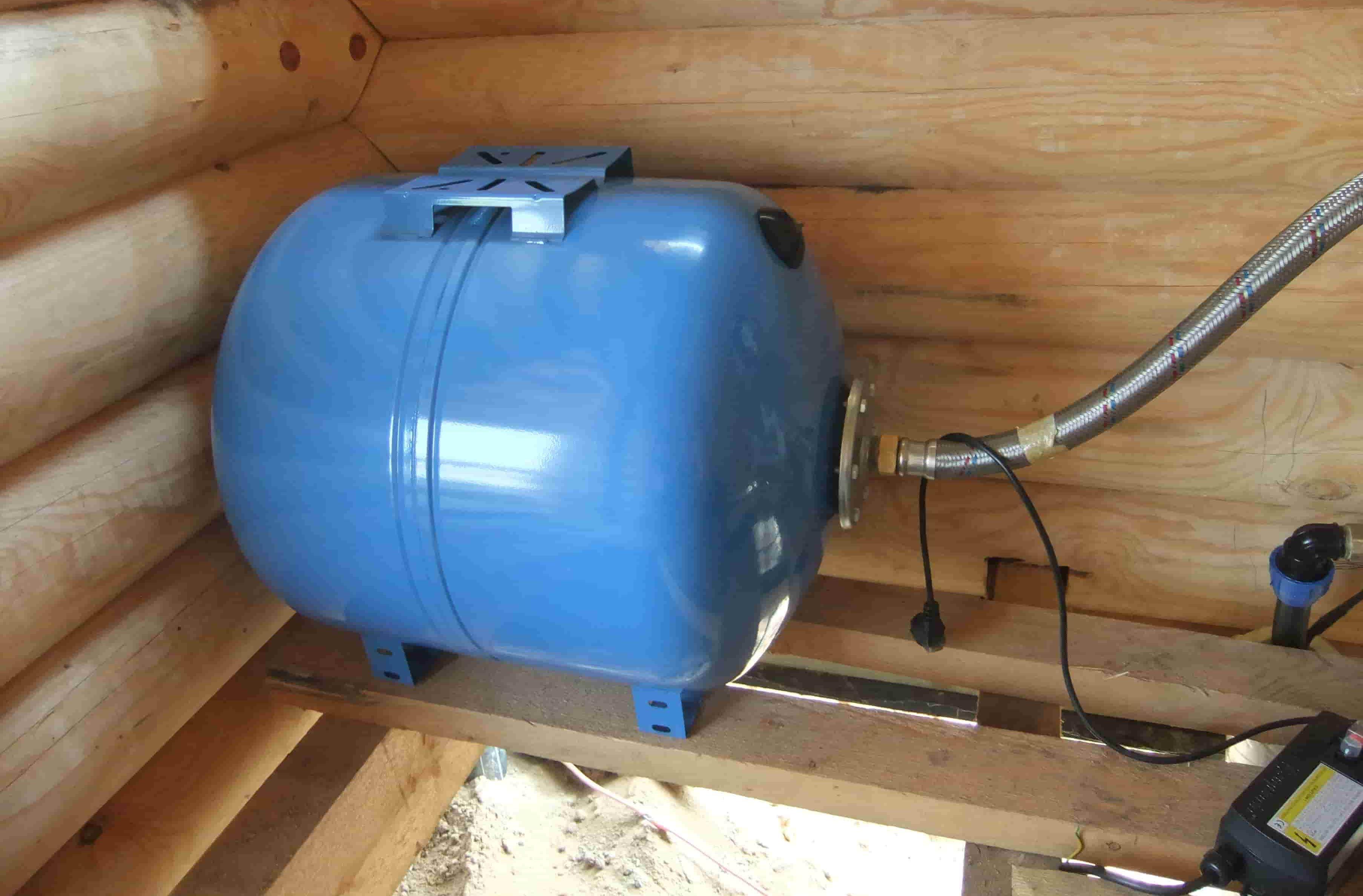 Установка насосной станции для водоснабжения