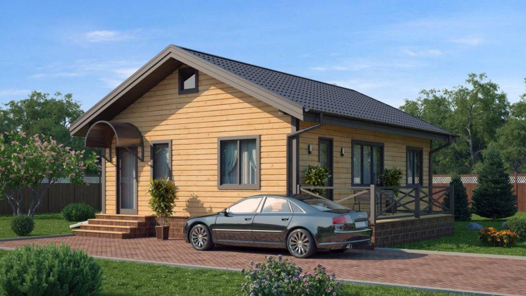 Готовый дом из СИП-панелей