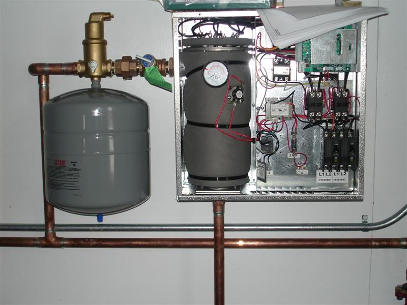 Система отопления частного дома с электрическим котлом