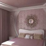 Фото 87: Дизайн тканевого натяжного потолка