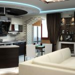 Фото 8: модная мебель и текника в малогабаритной квартире