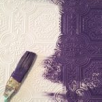 Фото 4: Фиолетовые стены в интерьере