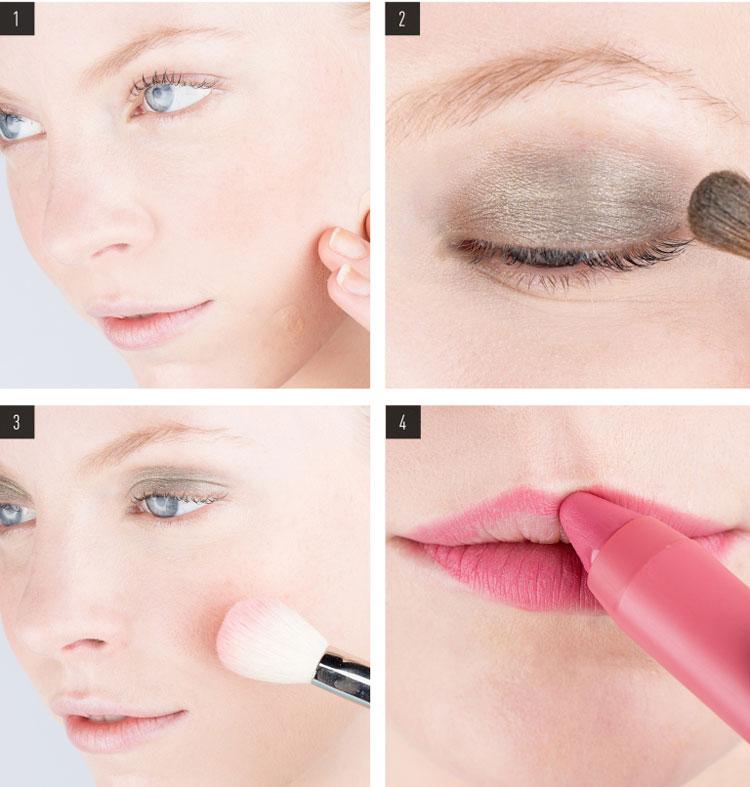 Дневной или утренний макияж