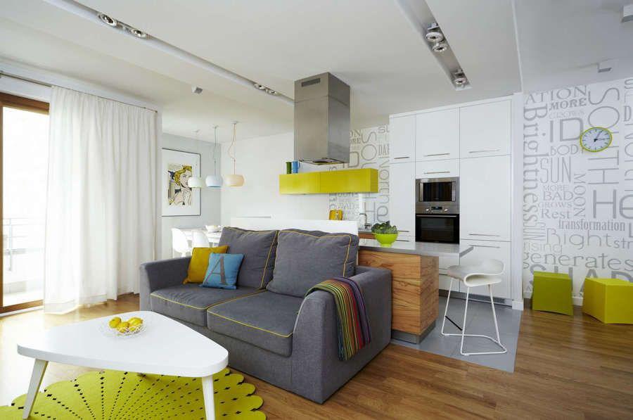 Стильная и современная малогабаритная квартира