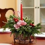 Фото 86: Рождественская икебана