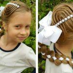 Фото 50: Вплетение ленты в косу