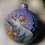 Фото 109: Елочный шар к Году Крысы