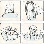 Фото 93: Схема плетения косы–венка