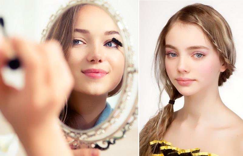 Естественный сияющий макияж