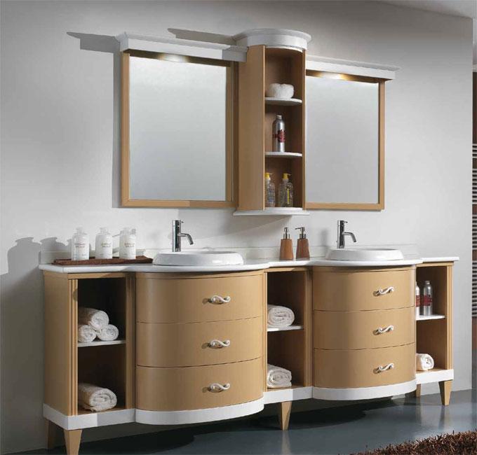 Уютная мебель для ванной комнаты