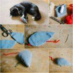 Фото 114: Простая мышка из фетра