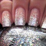 Фото 123: Декор ногтей блестками