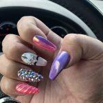 Фото 143: Дизайн ногтей в стиле единорога