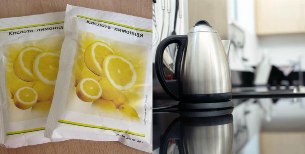 Лимонная кислота для очистки накипи